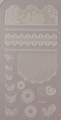 Lace Sheet (FL044 White)