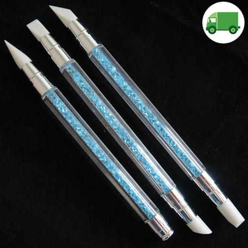 silicone gel nail brush set