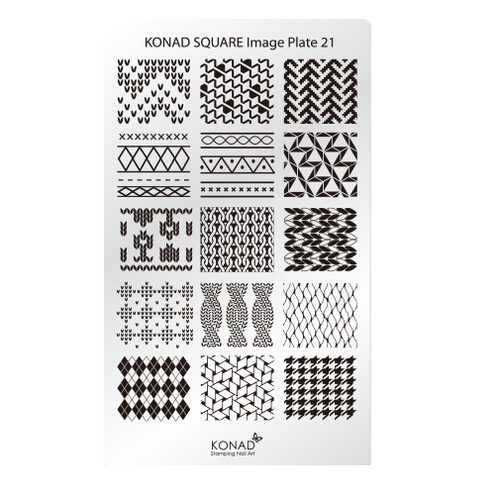 Konad Square Image Plate 21