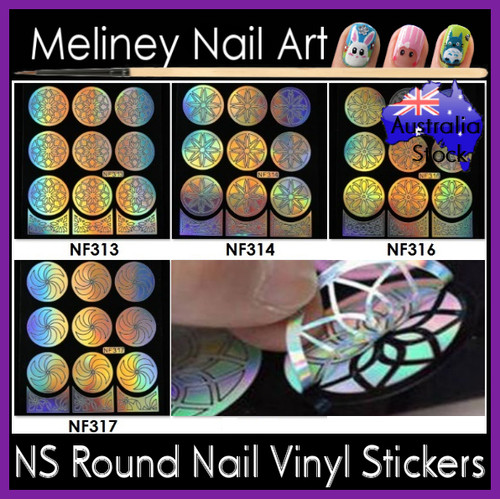 NF Round Vinyl Set (5pc)