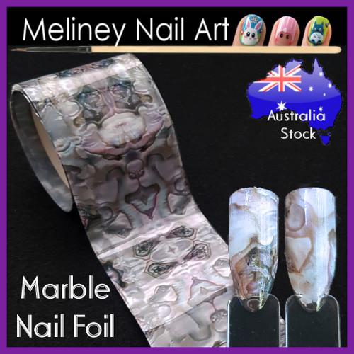 Marble Nail Art Transfer foil