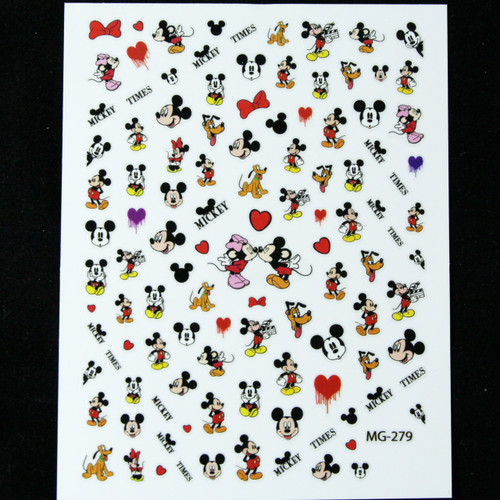 Micky mouse sticker