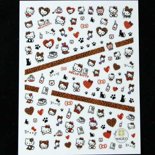 Hello kitty Nail sticker