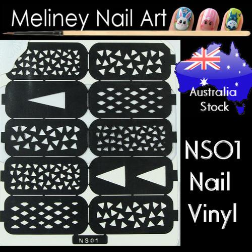 NS01 nail vinyl