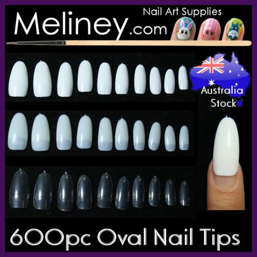oval nail tips