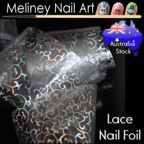 Lace Nail Art Transfer Foil