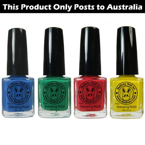 Meliney  Nail Art Stamping Polish - Prime Set