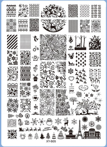 XY-B05 Image Plate for Stamping Nail Art Designs