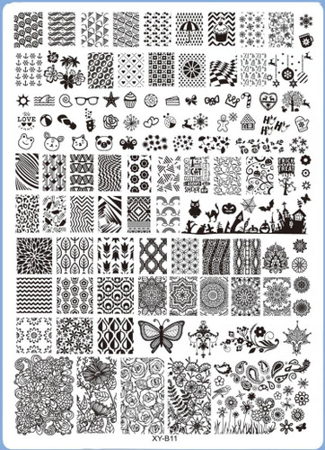 XY-B11 Image Plate for Stamping Nail Art Designs