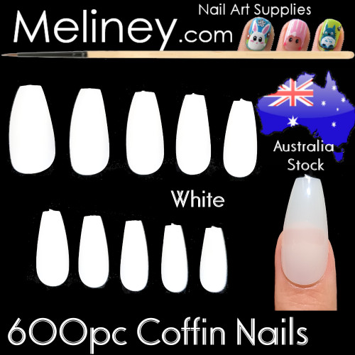 600pc Coffin Full Nails
