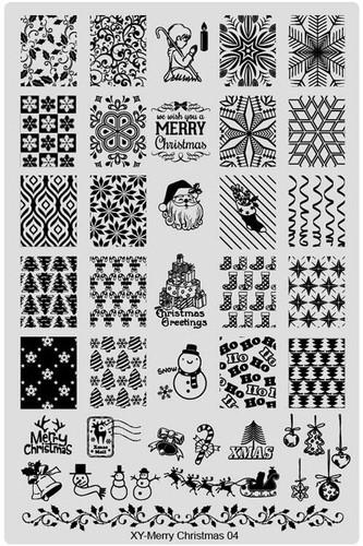 XY-Christmas image plate 4