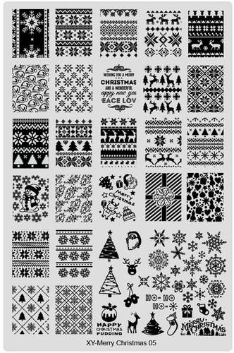 XY-Christmas image plate 5