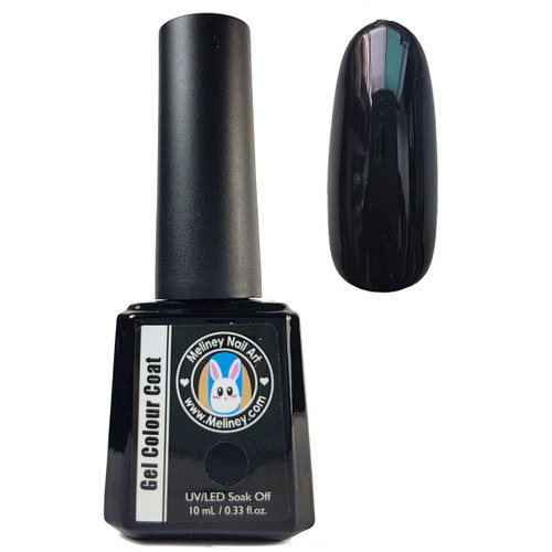 Meliney Gel Polish 01 - Royal Black