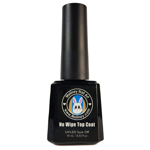 Meliney Gel Polish -No Wipe Top Coat