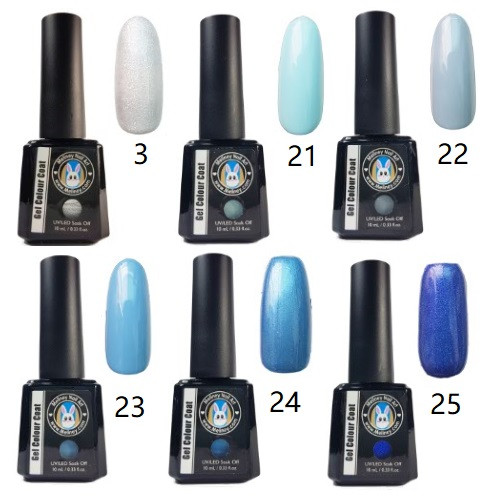 Meliney Gel Polish - Blue Set