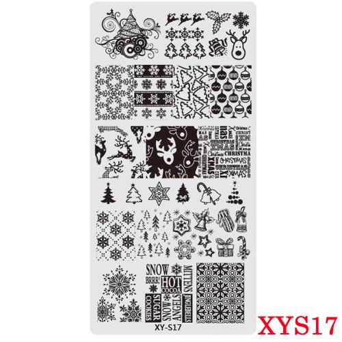 XY-S17 Christmas image plate