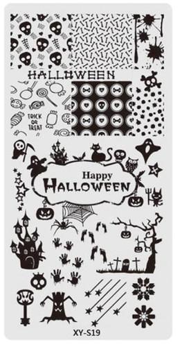 XY-S19 Halloween image plate