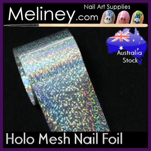 Holo Mesh Nail Art Transfer Foil