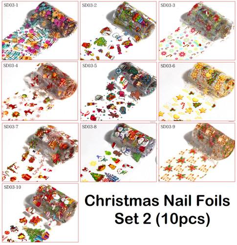 Christmas Nail Art Foils