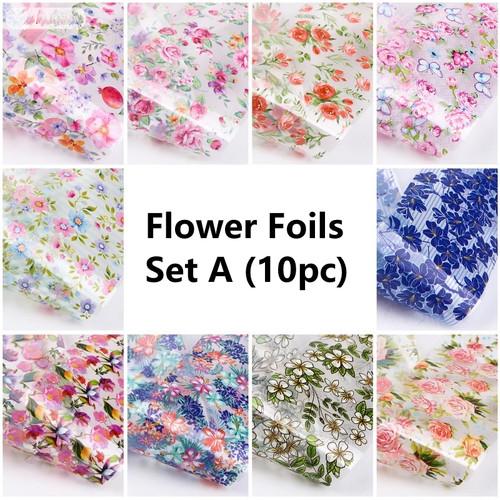 Flower Nail Art Foils
