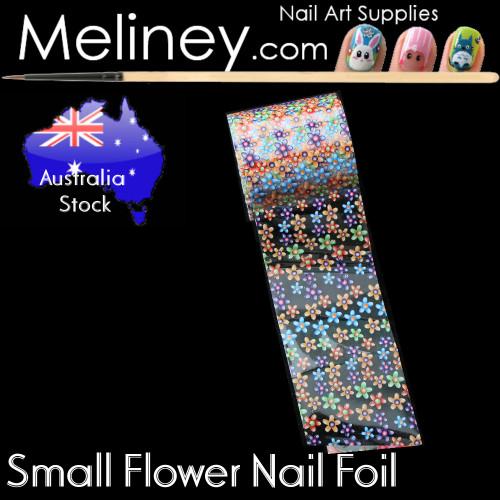Small Flower Nail Art transfer Foil