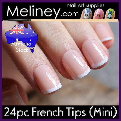 24pc Full Nail French Tips mini