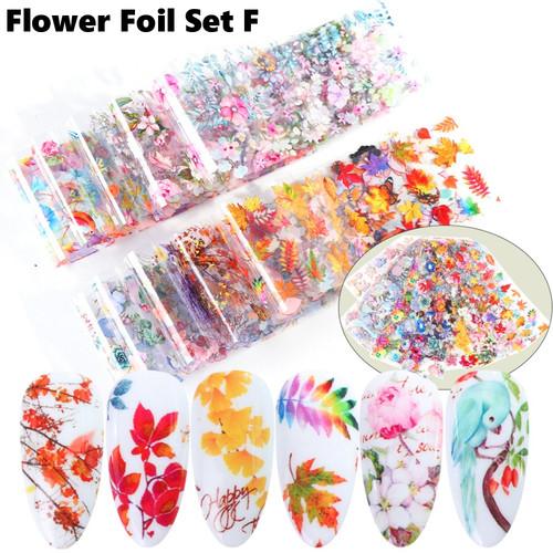 flower foil set F