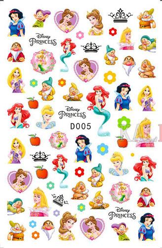 Disney princess sticker