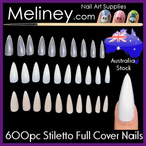 Stiletto Full cover nails