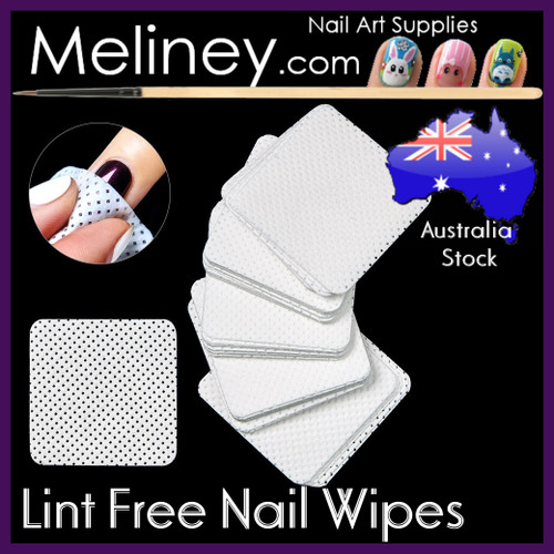 lint free Nail wipes pads