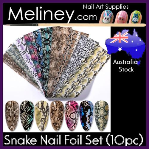 Snake Skin Nail Foils