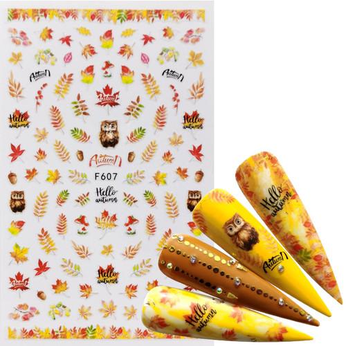 Autumn Leaf Sticker