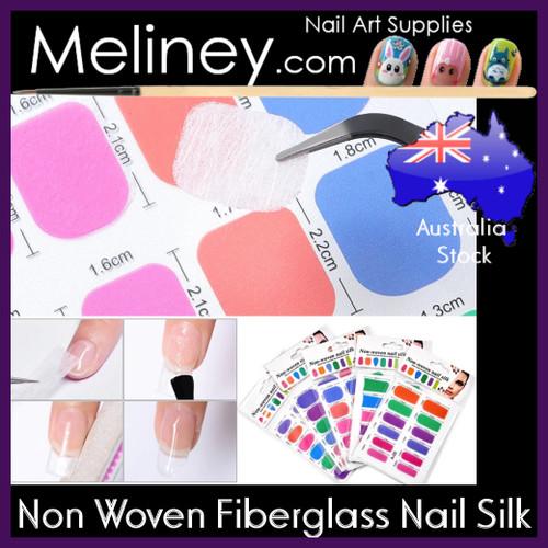 Non woven nail silk