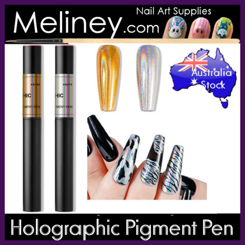 holographic pigment pen laser chrome mirror powder