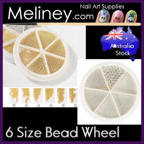 6 size micro bead wheel