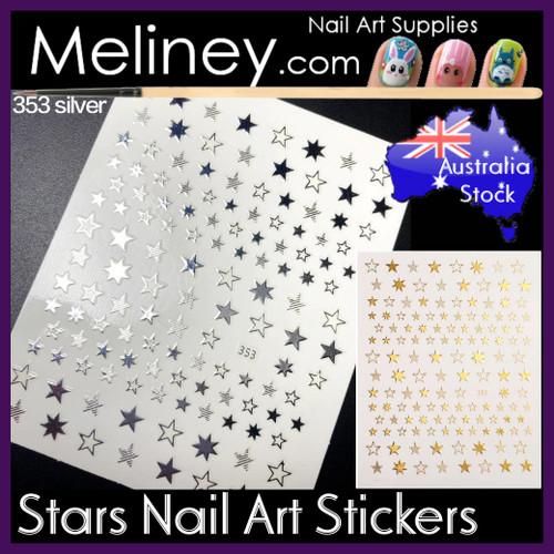 star nail stickers