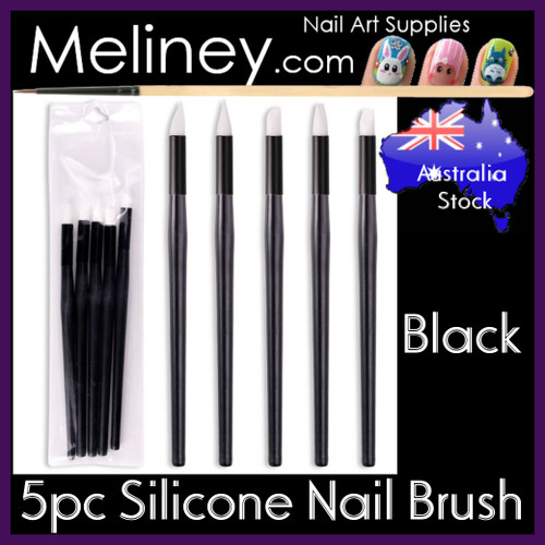 silicone gel nail brush set