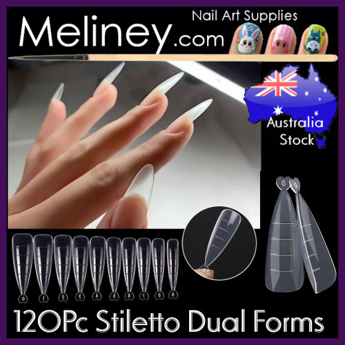 120pc Stiletto Dual Forms