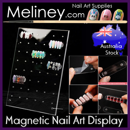 Magnetic Nail Art Display Stand