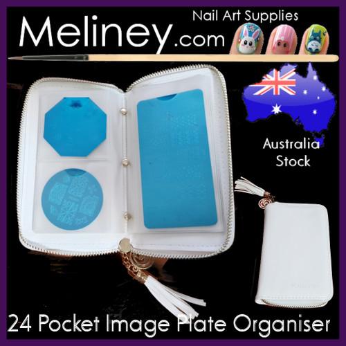 24 Pocket Image plate Organiser Folder