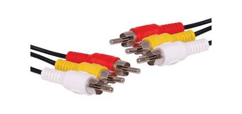 1.5M 3 Rca Male To 3 Rca Male Composite Cable