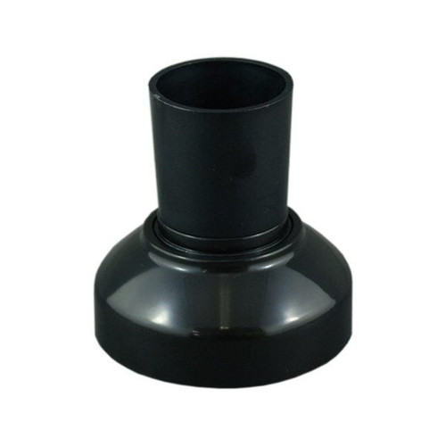 Batten Holder With Clip On Cover Black