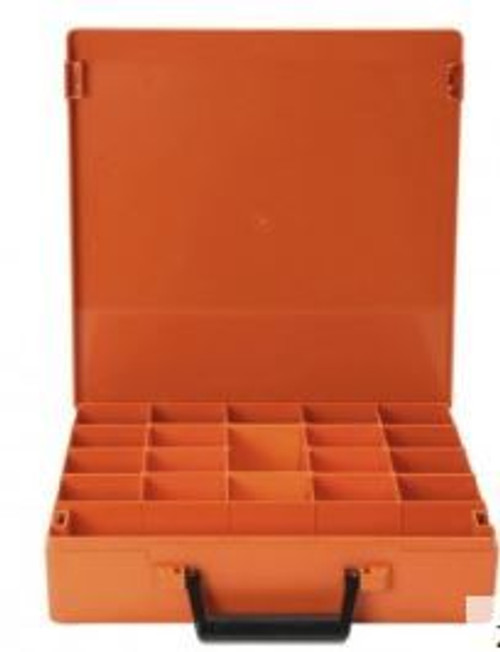 Rolacase With 6 Dividers Orange 370 X 370 X 85Mm