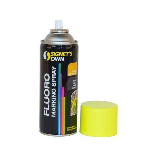 Fluro Yelow Marking Paint 350G Aerosol Spray Can