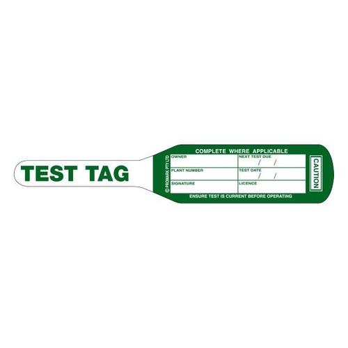 Test Tags, Bat Style Green (Mar~May) [100]