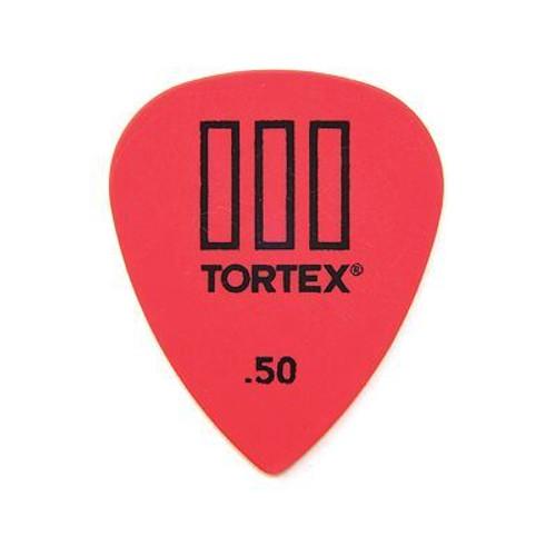 .50 Tortex T3 Pick Red Sharp Dunlop