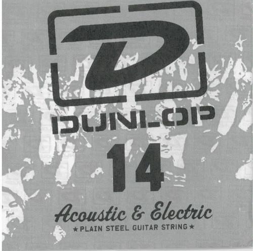 Jim Dunlop Single Plain Steel .014 Electric Or Acoustic Guitar String