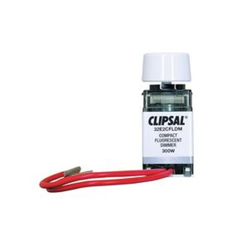 Clipsal 32E2Cfldmwe White Dimmer Mechanism 220-240V