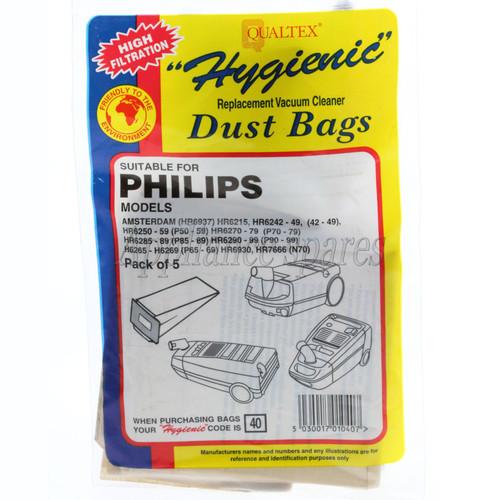 Vac Bag To Suit Phillips Tc722