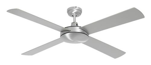"Caprice 52"" Ac Ceiling Fan Brushed Steel"